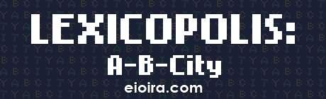 Lexicopolis A-B-City Logo
