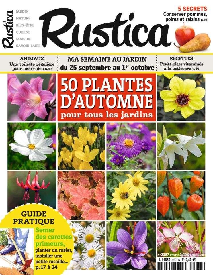 Rustica 2387 - 24 Septembre 1er Octobre 2015