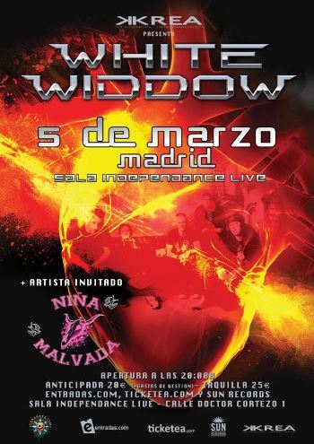 White Widow en Madrid