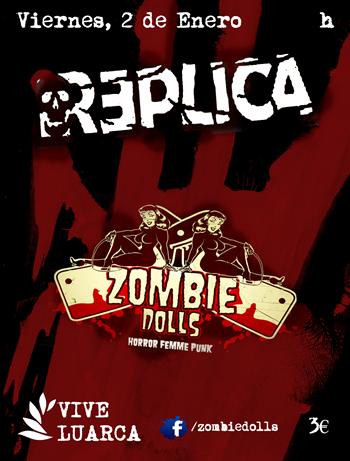 Zombie Dolls Luarca cartel