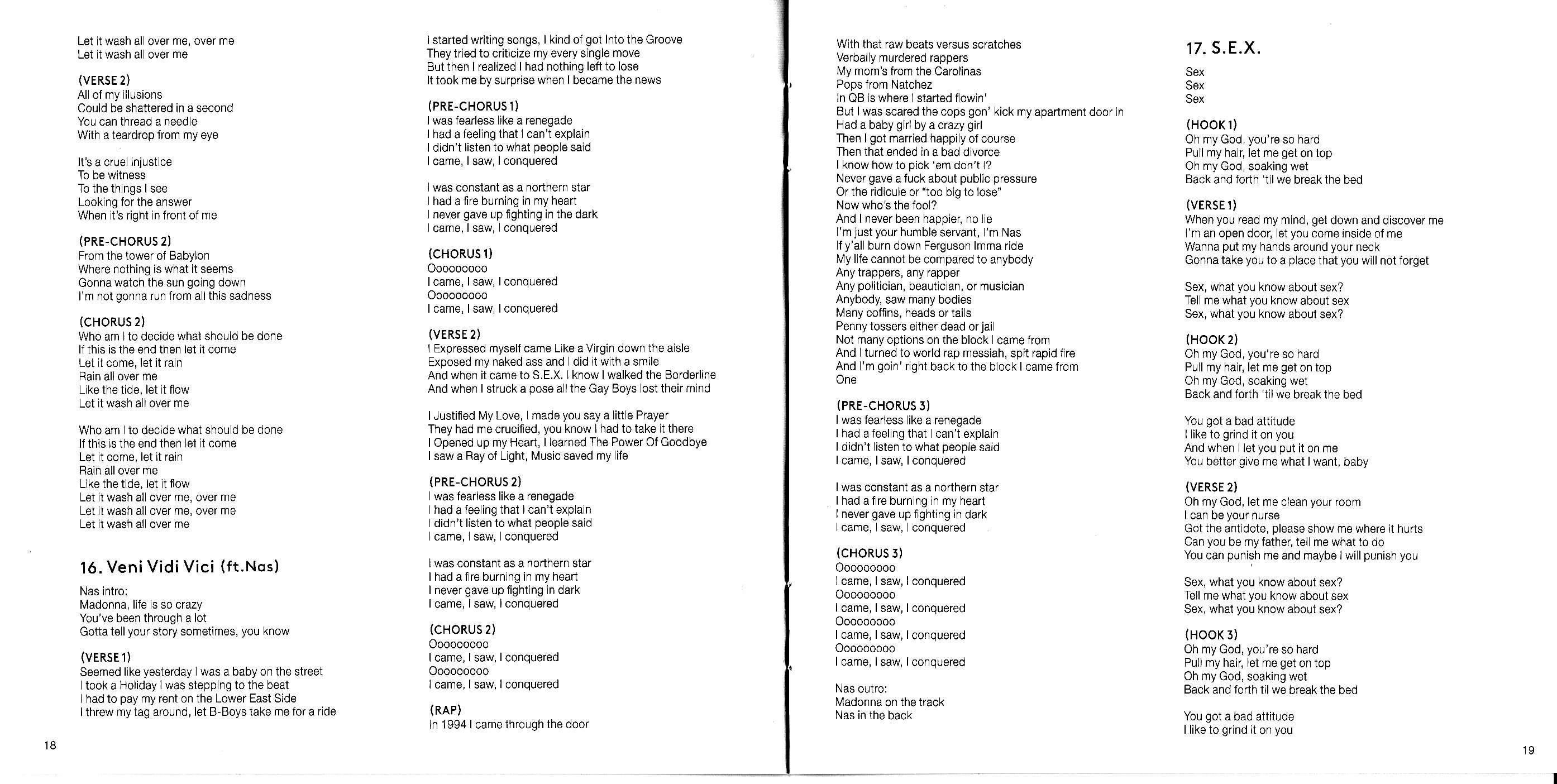 Madonna Rebel Heart Japanese Version - Scans (20)