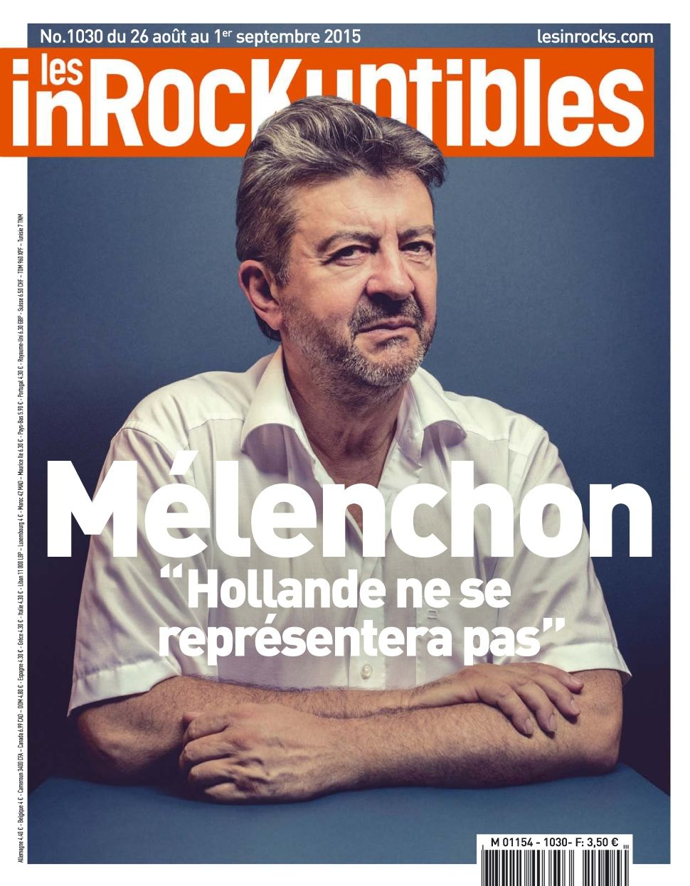 Les Inrockuptibles 1028 - 26 Aout au 1er Septembre 2015