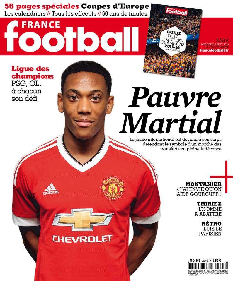 France Football 3620 du Mercredi 9 Septembre 2015