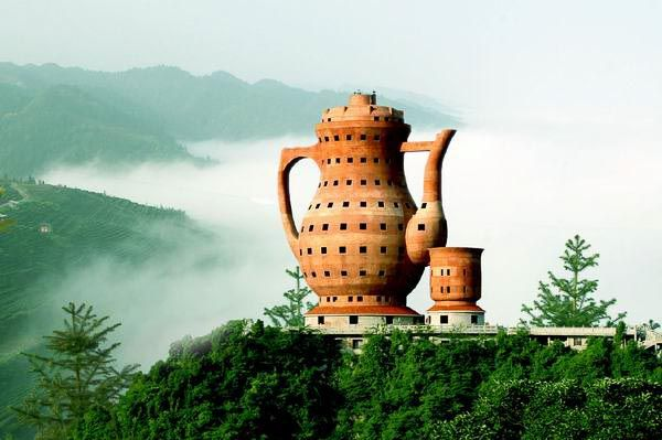Good The Worldu0027s Biggest Teapot Stands 73.8 Meters Tall And Measures 24 Meters  At The Maximum Diameter. It Houses A Tea Museum Which Is Very Fitting As  Meitan ... Photo