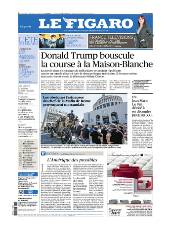 Le Figaro WEEK-END Du Samedi 22 & Dimanche 23 Août 2015