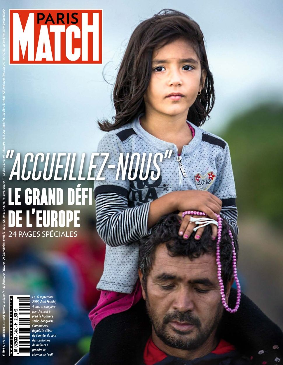 Paris Match 3460 - 10 au 16 Septembre 2015