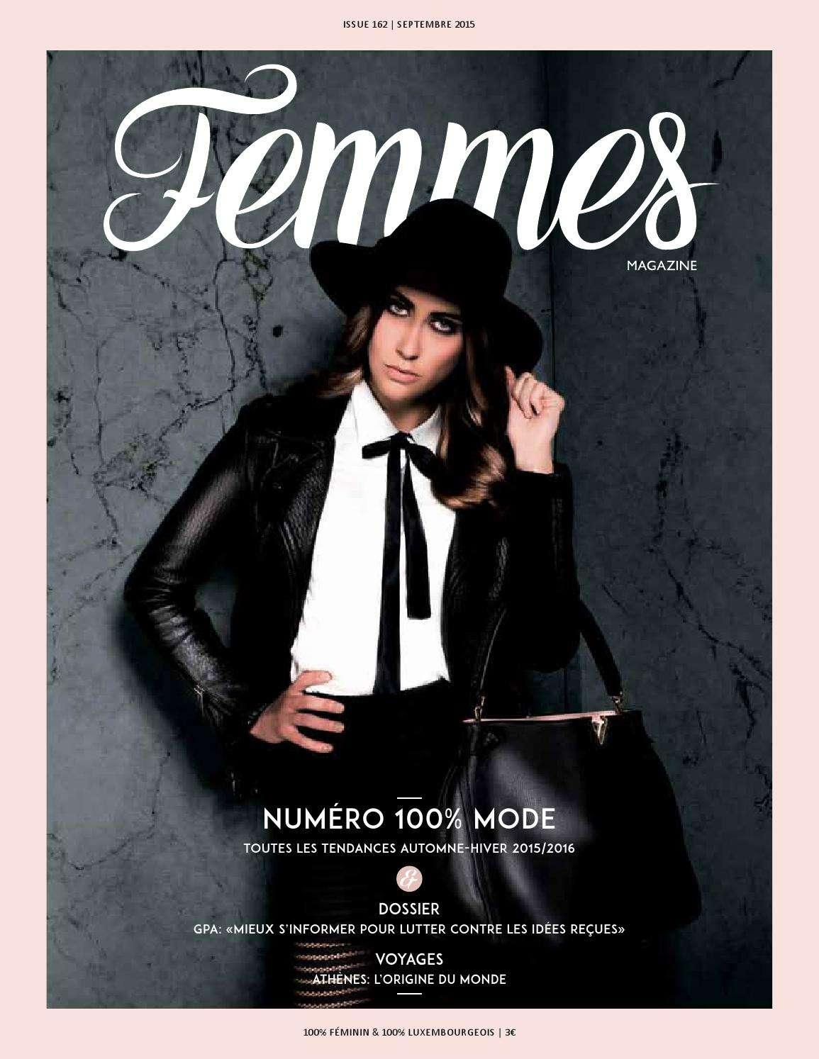 Femmes Magazine - Septembre 2015