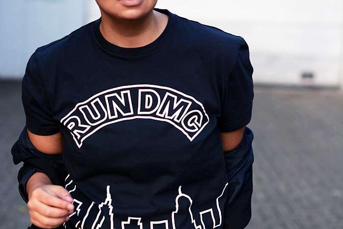 Run DMC Boys Classic Logo T-Shirt
