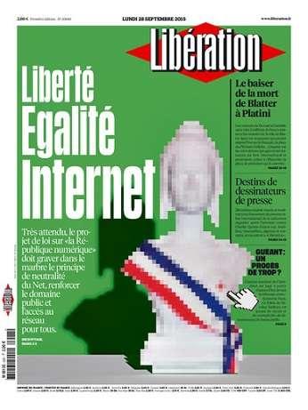 Liberation Du Lundi 28 Septembre 2015