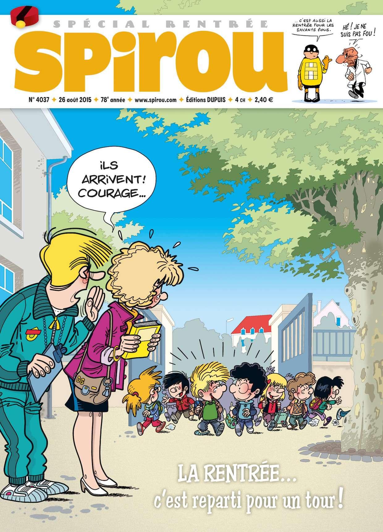 Le Journal de Spirou 4037 - 26 Août au 1er Septembre 2015