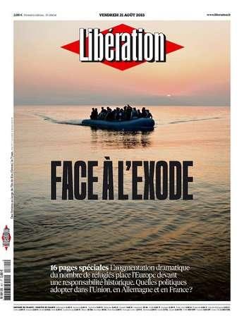 Liberation Du Vendredi 21 Août 2015