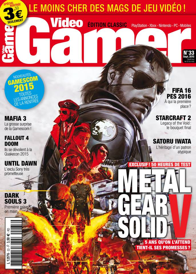 Video Gamer 33 - Septembre 2015