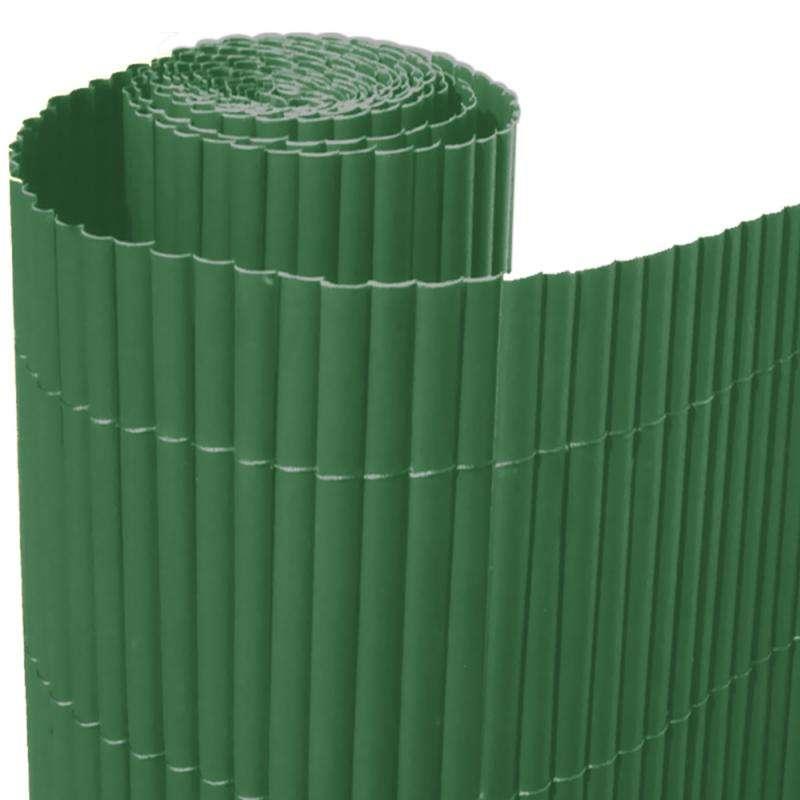 bamboo pvc screen border panel fence garden wall privacy