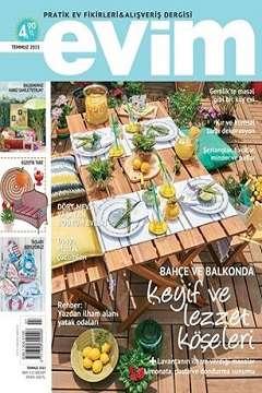Evim Dergisi Temmuz 2015 indir