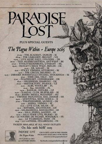 Paradise Lost gira