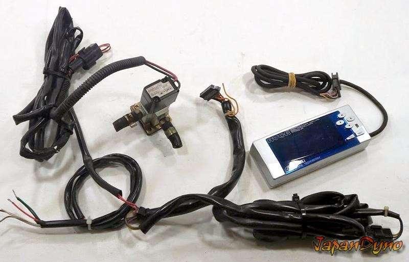 APEXI AVCR AVC-R 3 Boost controller blue screen Supra RX7 180sx