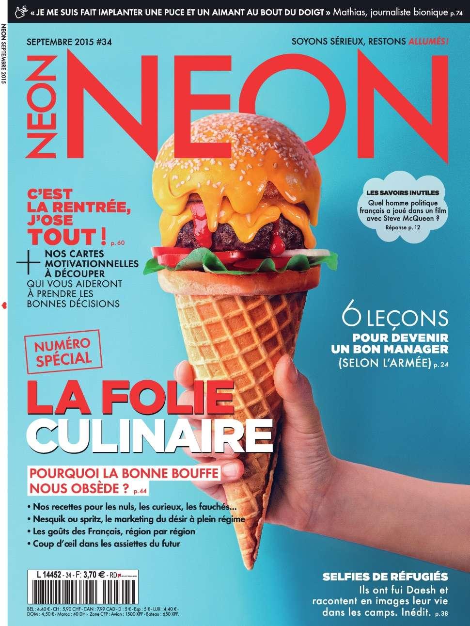 Neon 34 - Septembre 2015