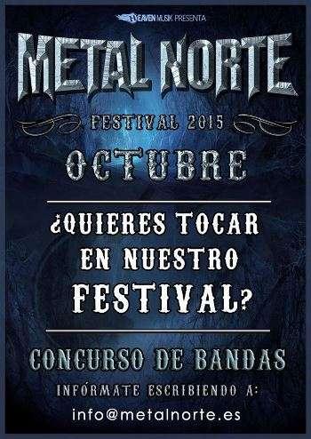 Metal Norte Festival concurso de bandas