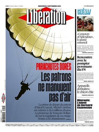 Liberation Du Mercredi 2 Septembre 2015