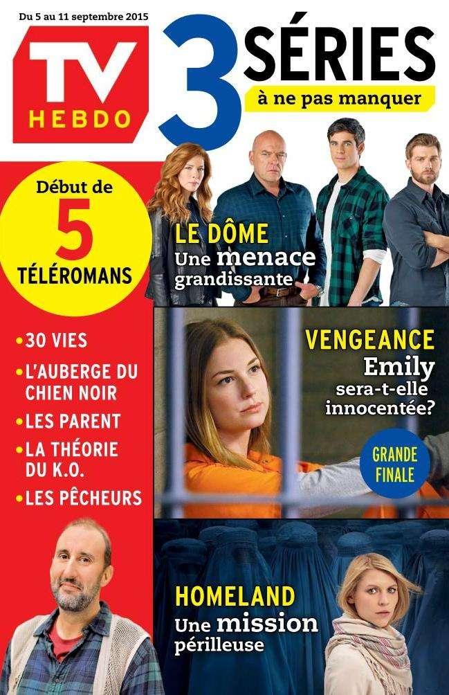 TV Hebdo - 5 au 11 Septembre 2015