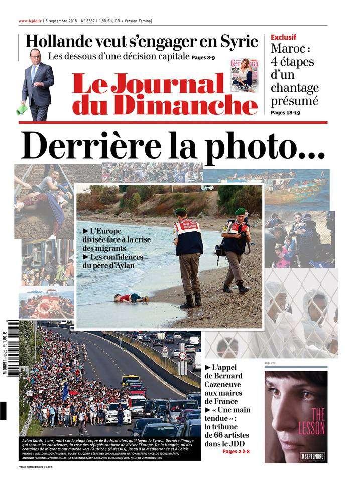 Le Journal du Dimanche - 6 Septembre 2015