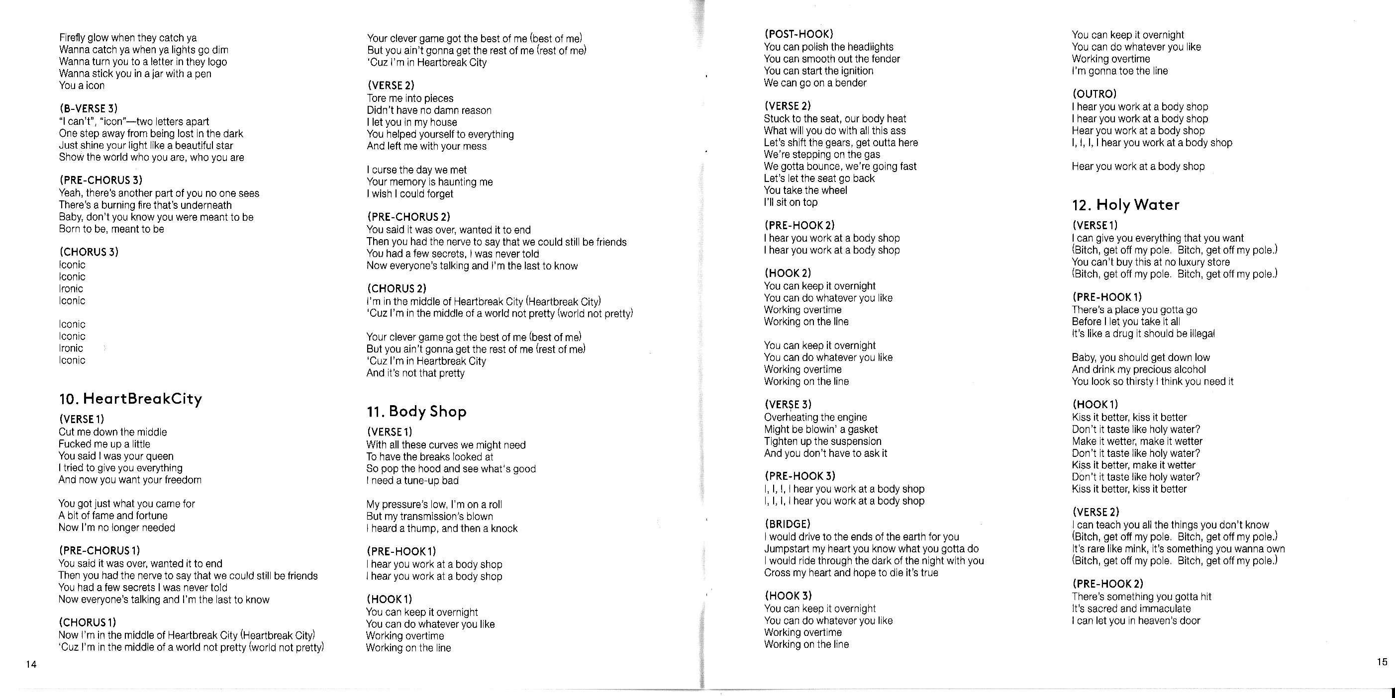 Madonna Rebel Heart Japanese Version - Scans (18)