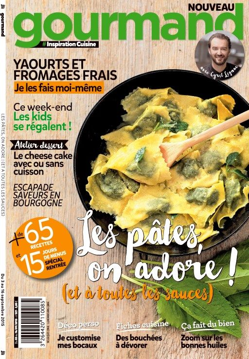 Gourmand 327 - 03 au 16 Septembre 2015