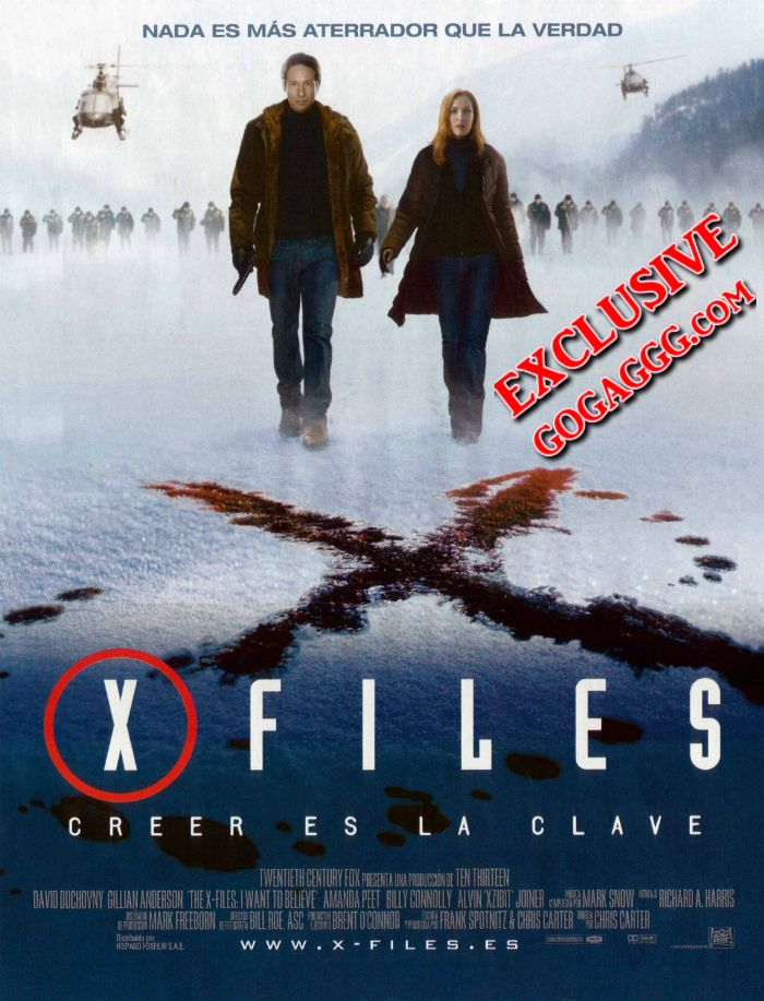 საიდუმლო მასალები. მინდა მჯეროდეს | The X-Files. I Want to Believe (ქართულად)