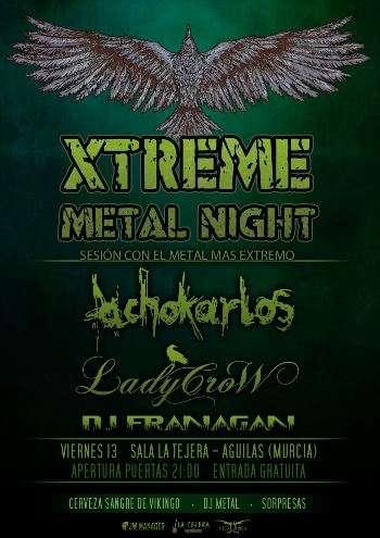 Extreme Metal Night - Tejera