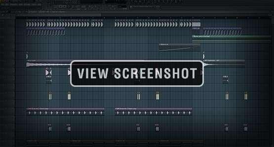 FL Studio Screenshot Image Template Project Preview