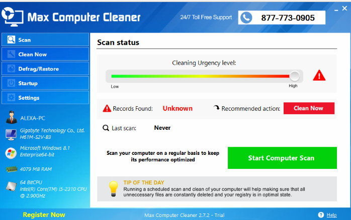 Remove Max Computer Cleaner