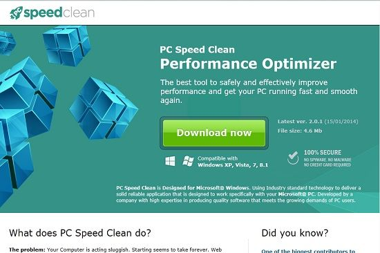 Remove PC Speed Clean