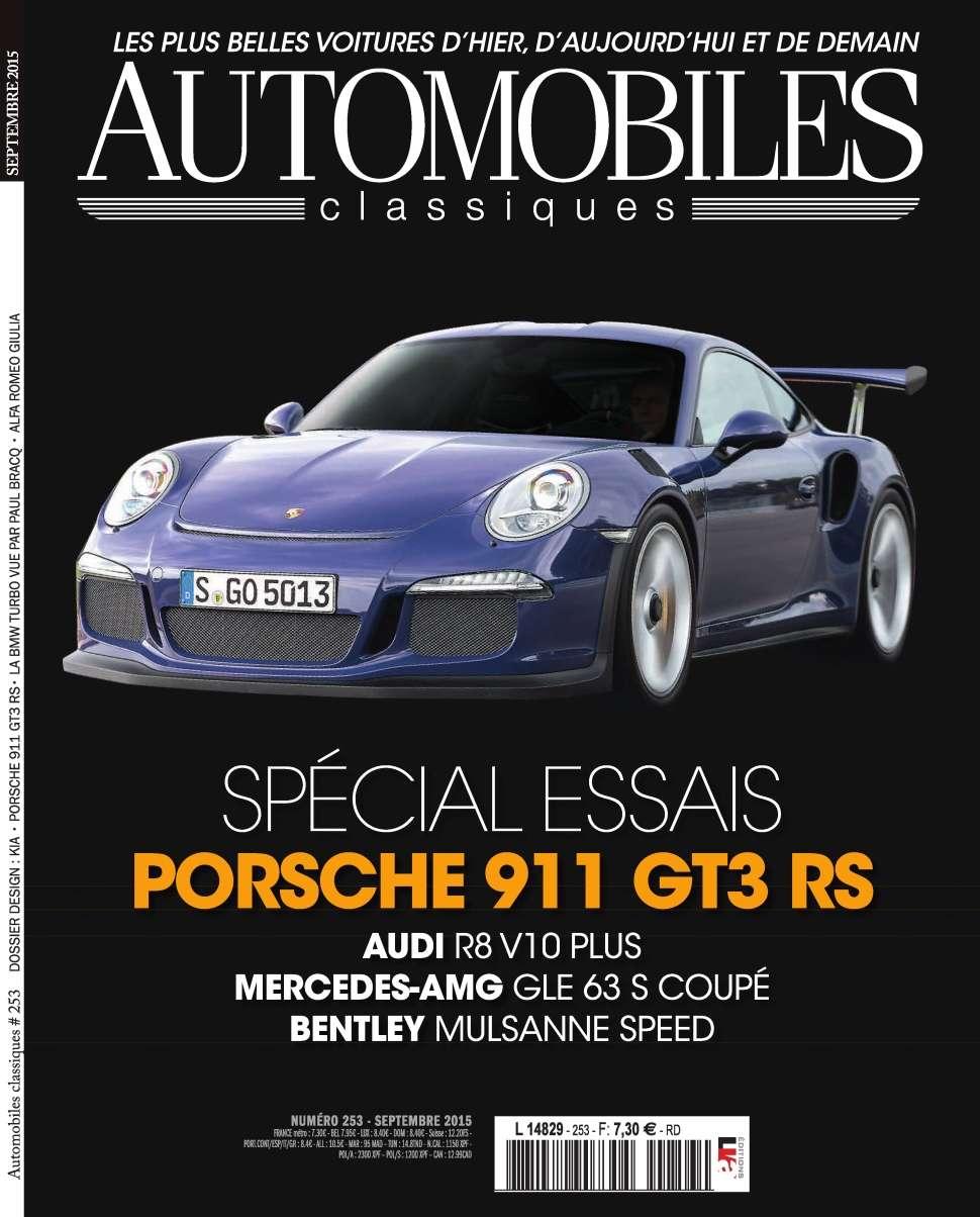 Automobiles Classiques 253 - Septembre 2015