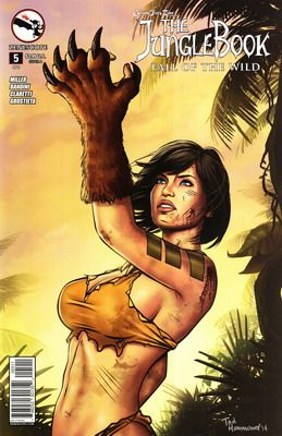 Grimm Fairy Tales Presents Jungle Book Fall Of The Wild #1-5 (2014-2015) Complete