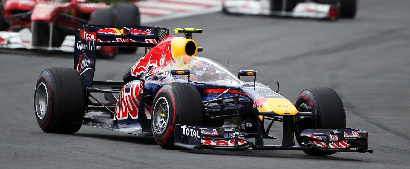 F1 Red Bull Closed Cockpit