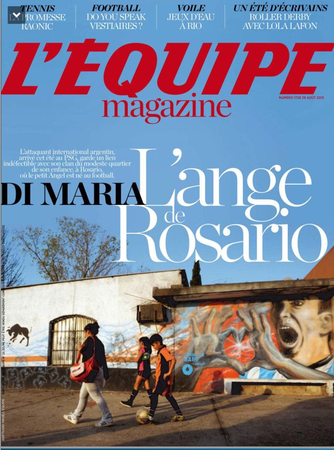 L'Equipe Magazine 1728 du samedi 29 aout 2015