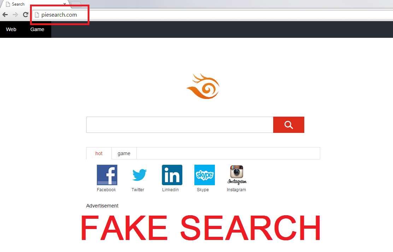Remove Piesearch.com