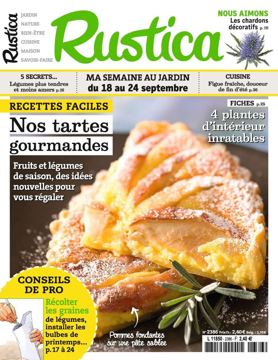 Rustica 2386 - 18 au 24 Septembre 2015