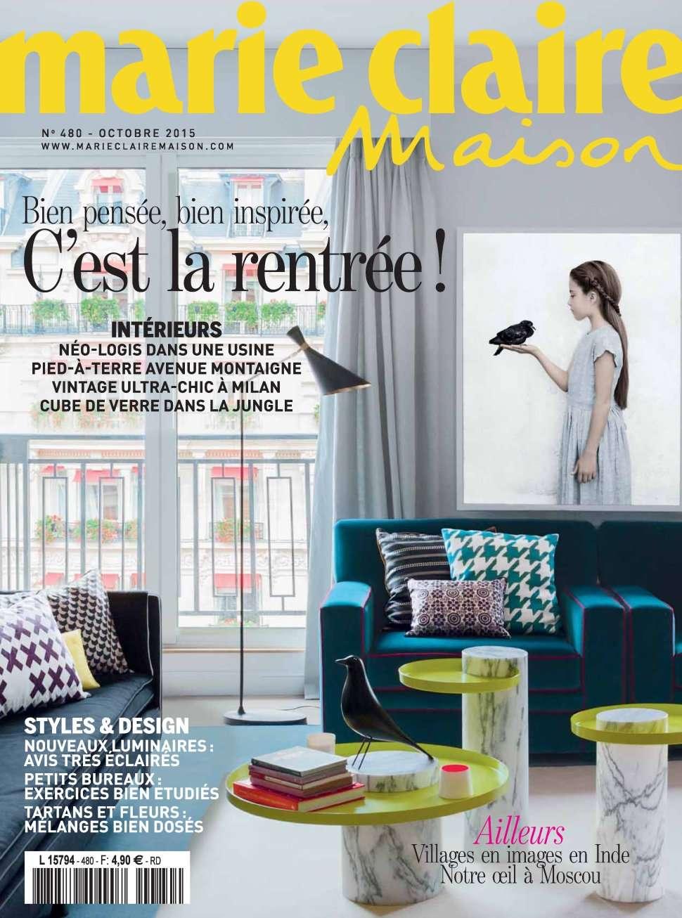 Marie Claire Maison 480 - Octobre 2015