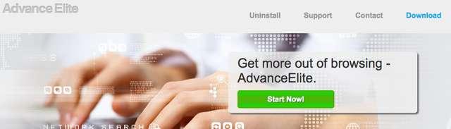 Удалить AdvanceElite