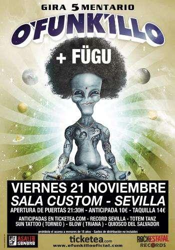 O'Funkillo Sevilla cartel