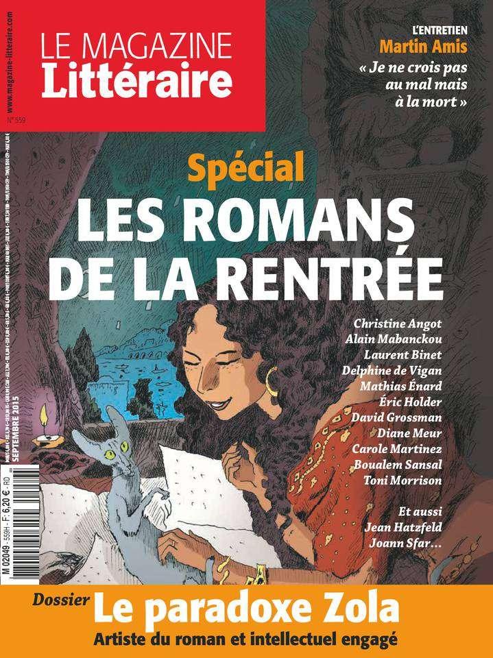 Le Magazine Littéraire 559 - Septembre 2015
