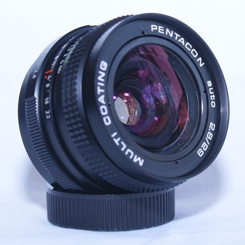 Pentacon auto 28mm f2 8 sn 0901 lensa m42 for Garage sn autos 42