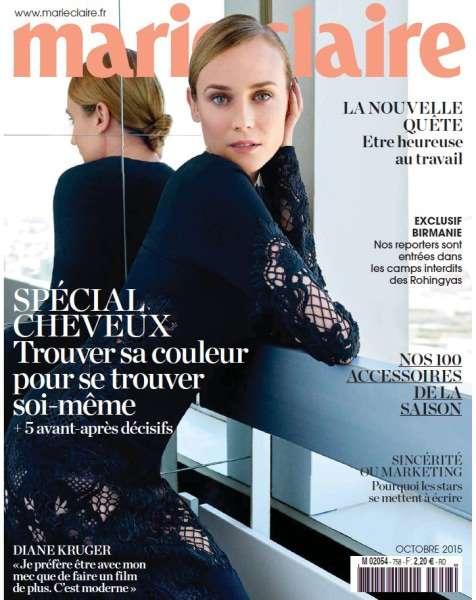 Marie Claire France - Octobre 2015