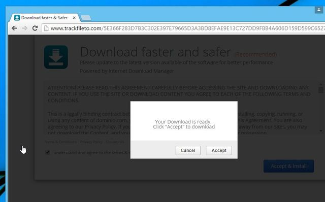 Remove Trackfileto.com