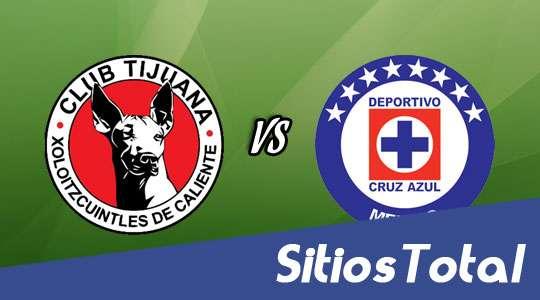 Xolos Tijuana vs Cruz Azul en Vivo