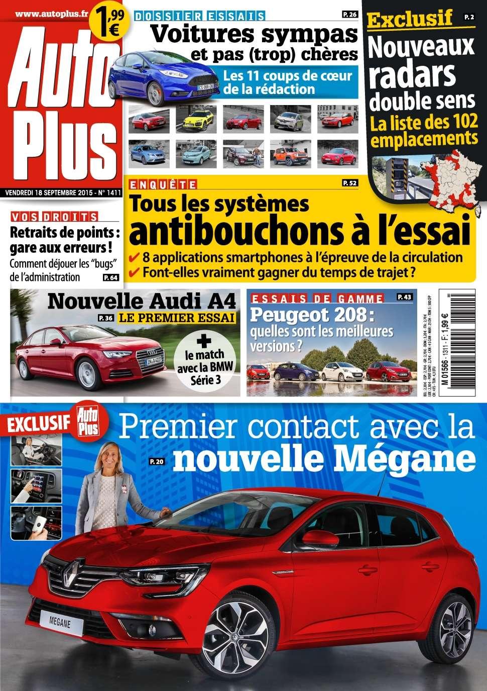 Auto Plus 1411 - 18 au 24 Septembre 2015