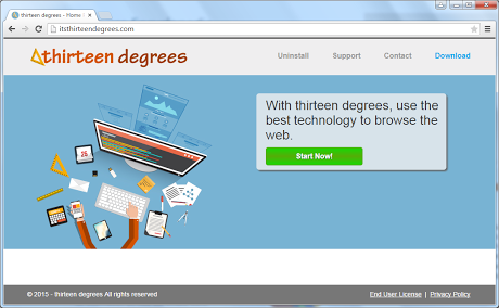 Remove Ads by Thirteen Degrees