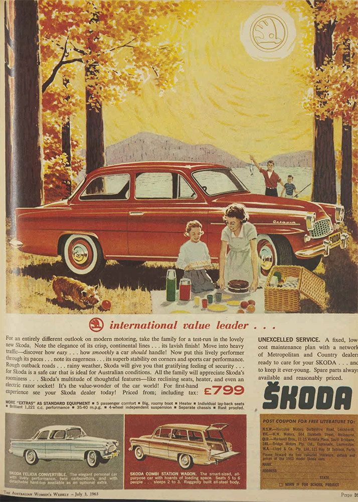 Skoda. International value leader.