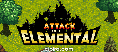 Attack of the Elemental Logo